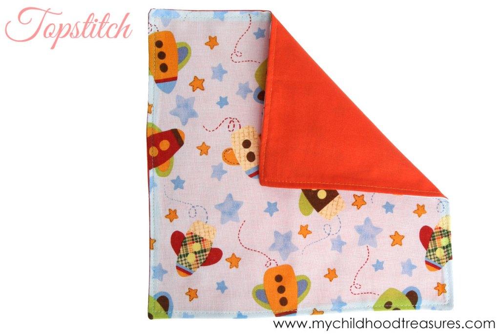 diy napkins - step 4