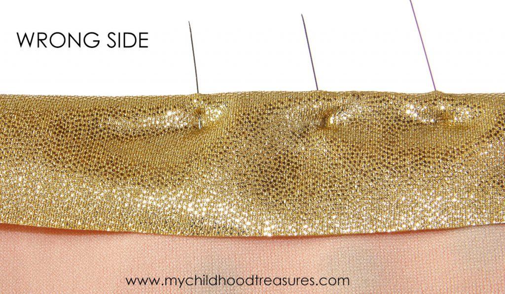 Binding Leotards - Stitching