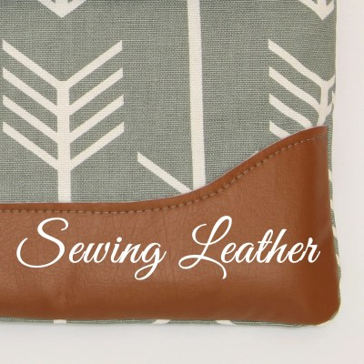 Sewing Leather & Sewing Vinyl – 8 steps to perfect stitching