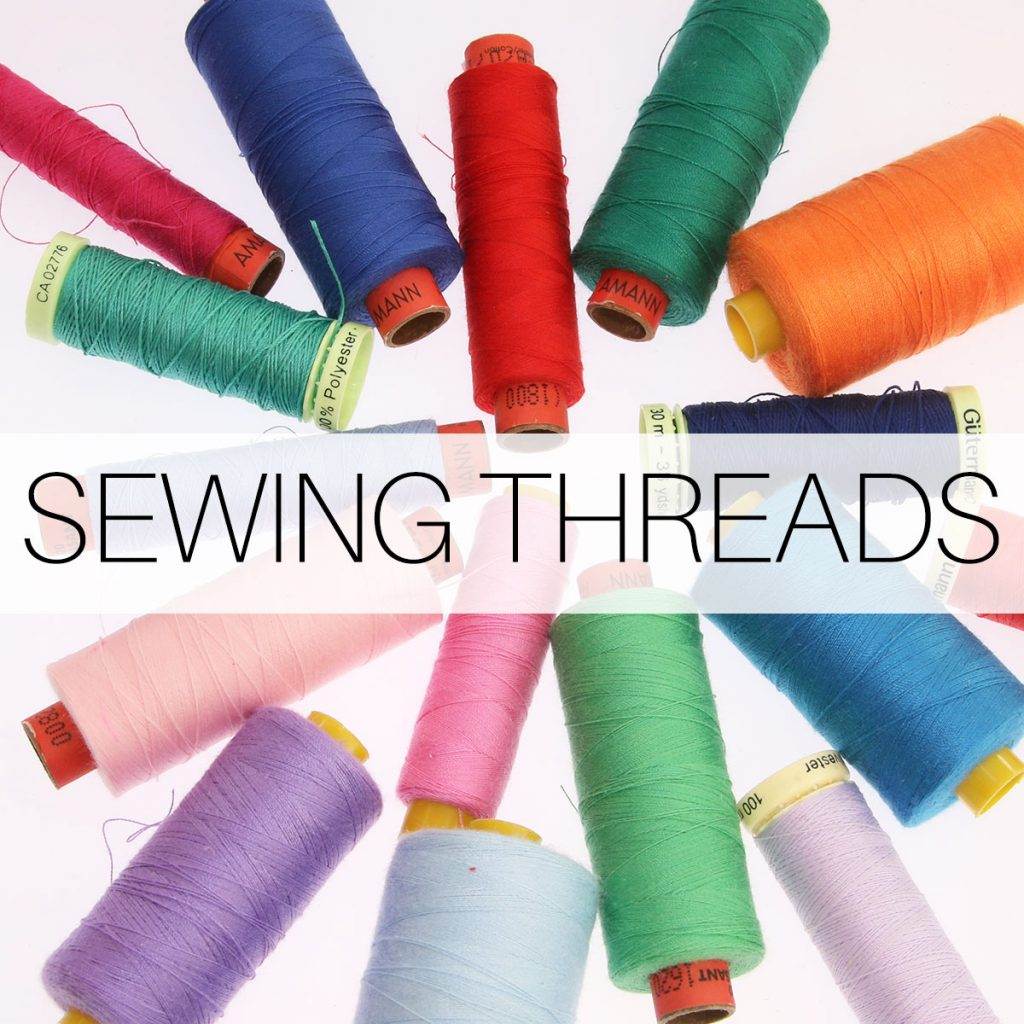 sewing thread types