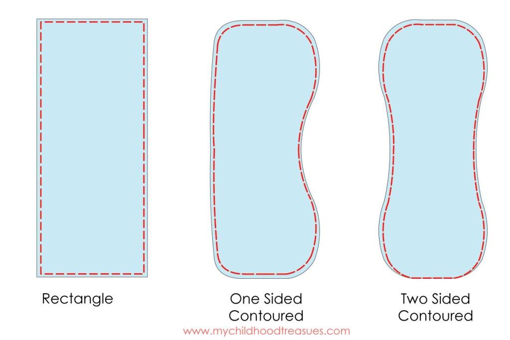 burp cloth pattern step 3