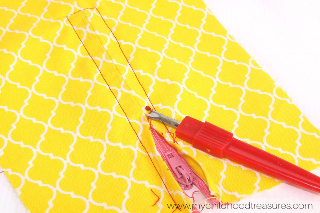 How to Use a Zipper Foot - Unpick