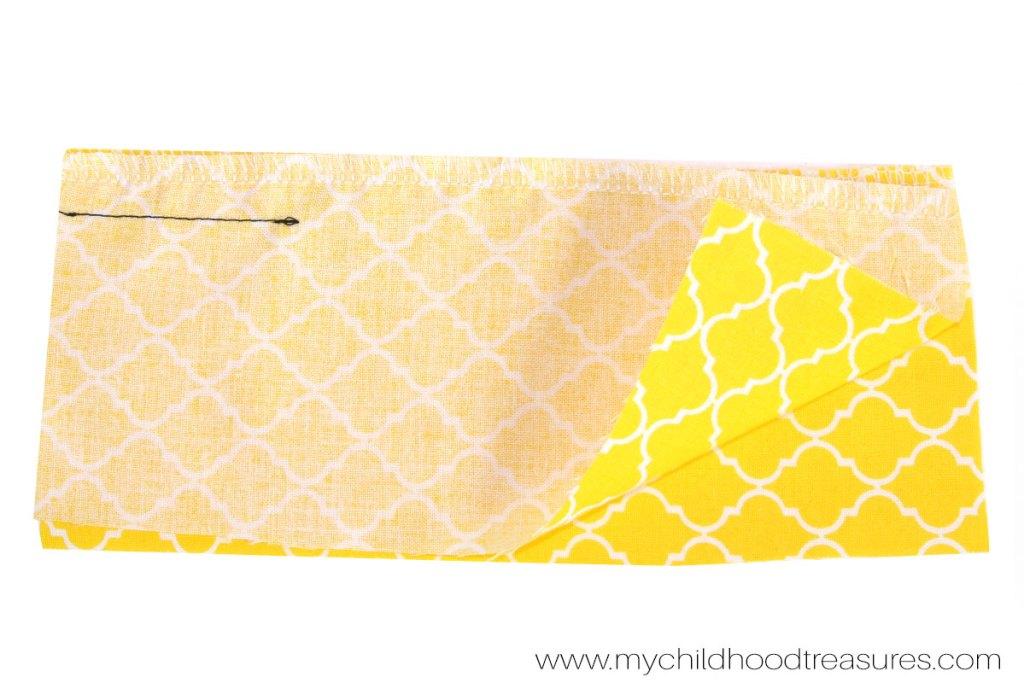 How to Sew a Zipper  - Step 2