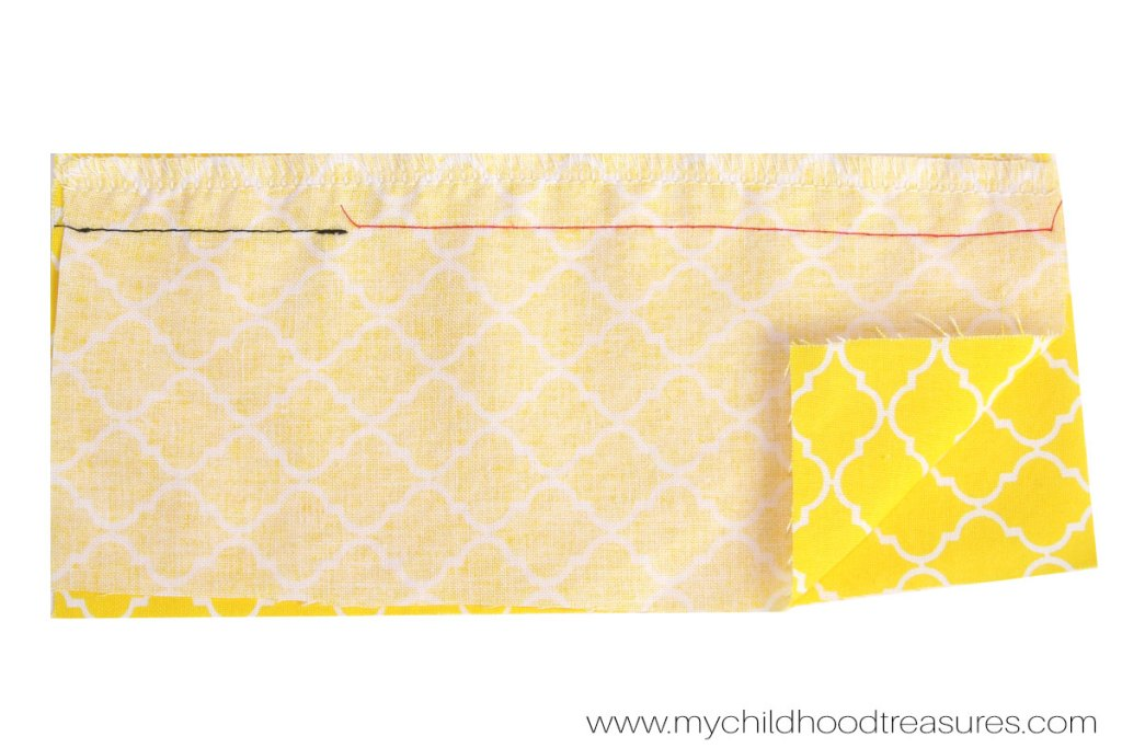 How to Sew a Zipper  - Step 3