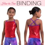 How to Sew Binding on Leotards and Swimsuits