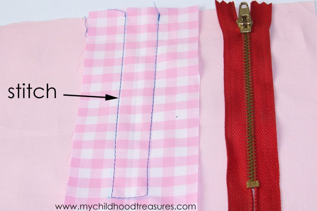 How to Sew an Exposed Zipper -Stitch Stay