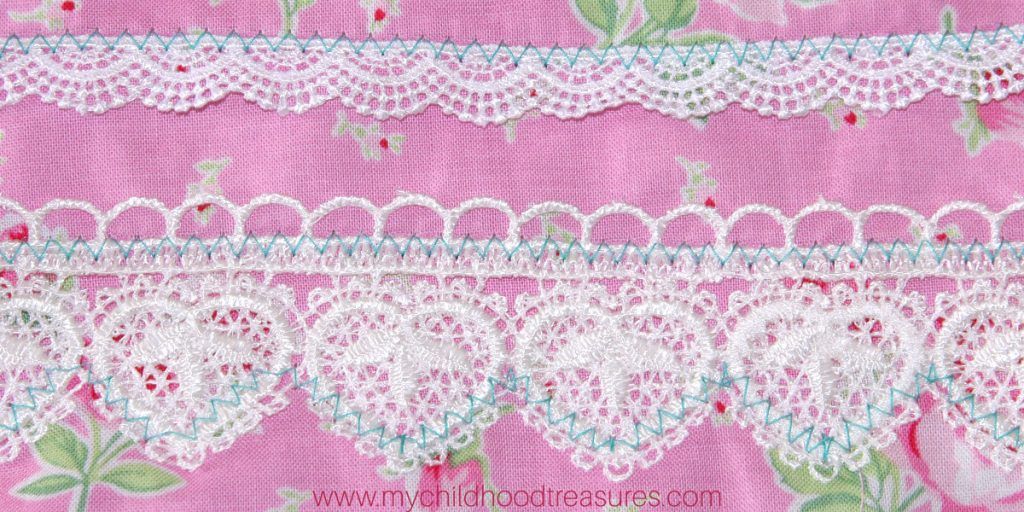 How to Sew Lace Trim on Top