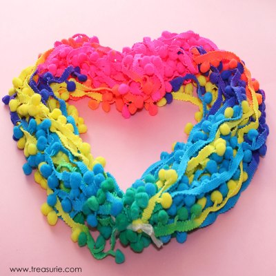 how to sew pom pom trim