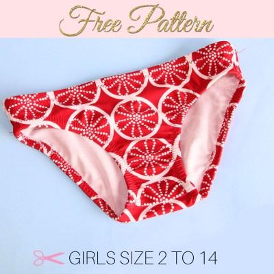 DIY Bikini – Free Girls Bikini Bottom Pattern