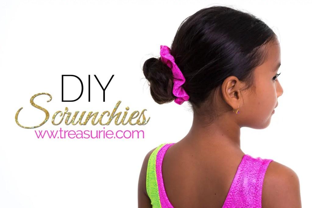 diy scrunchie, how to make a scrunchie