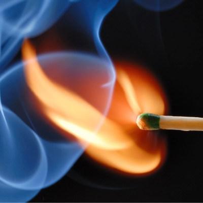 burning test