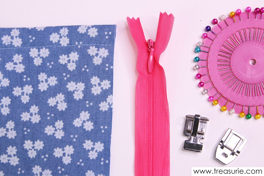 how to sew an invisible zipper supplies