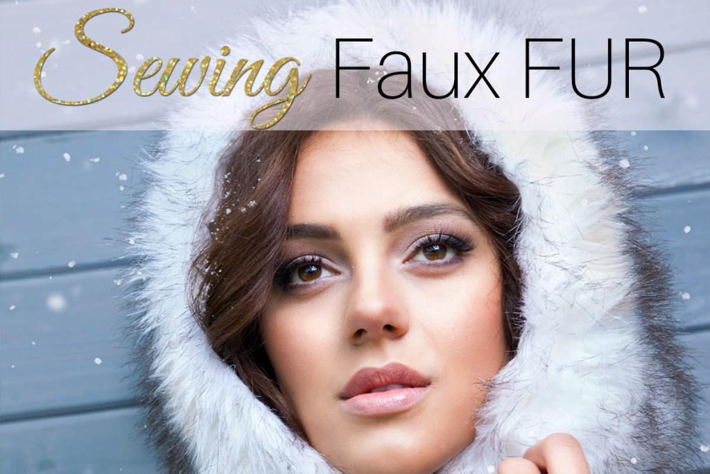 sewing fur