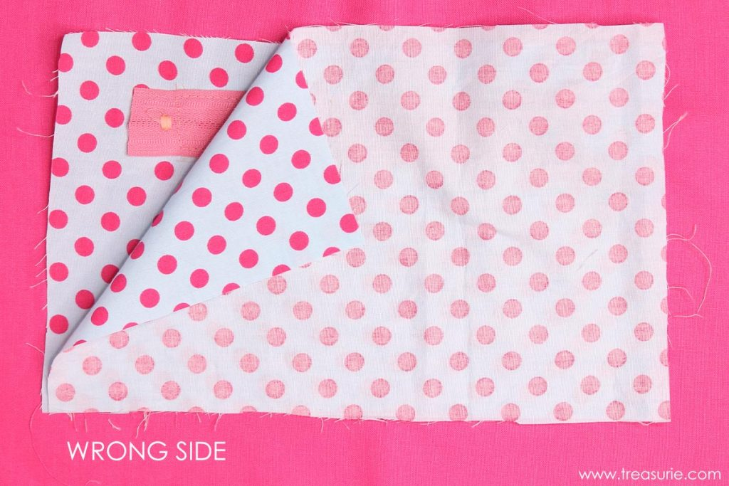 How to Sew a Zipper Pocket - Lining