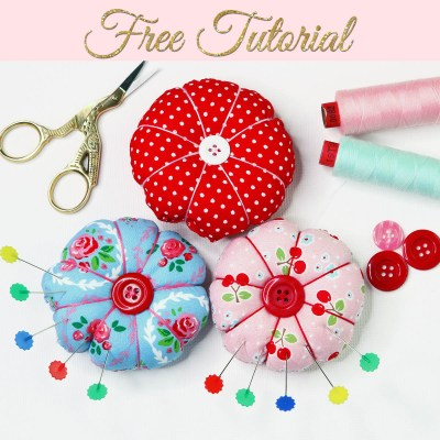 DIY Pin Cushion – Cute Round Pincushion
