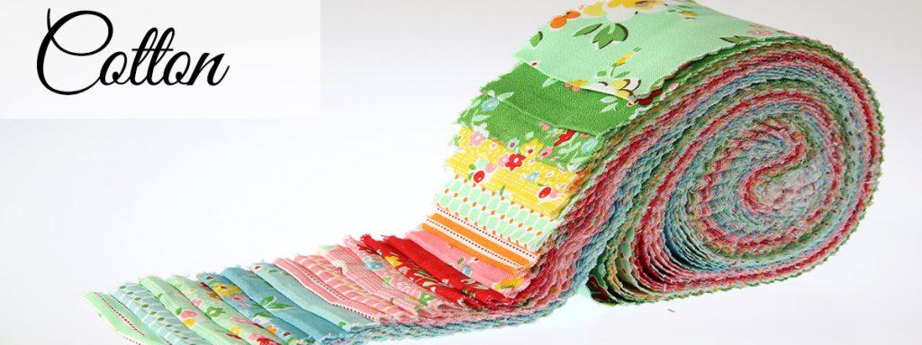 Log Cabin Quilt Block Fabrics - Jelly Roll Strips