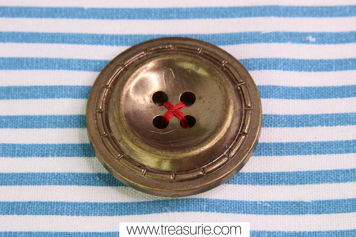 how to sew a 4 hole button