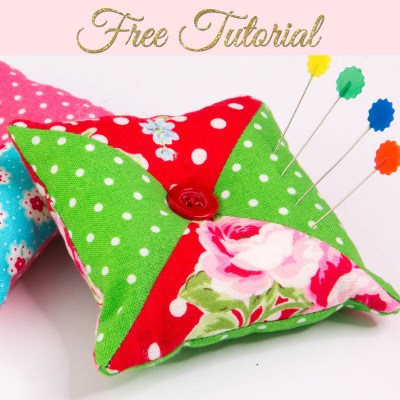 How to Make a Pincushion – Patchwork Pin Cushion
