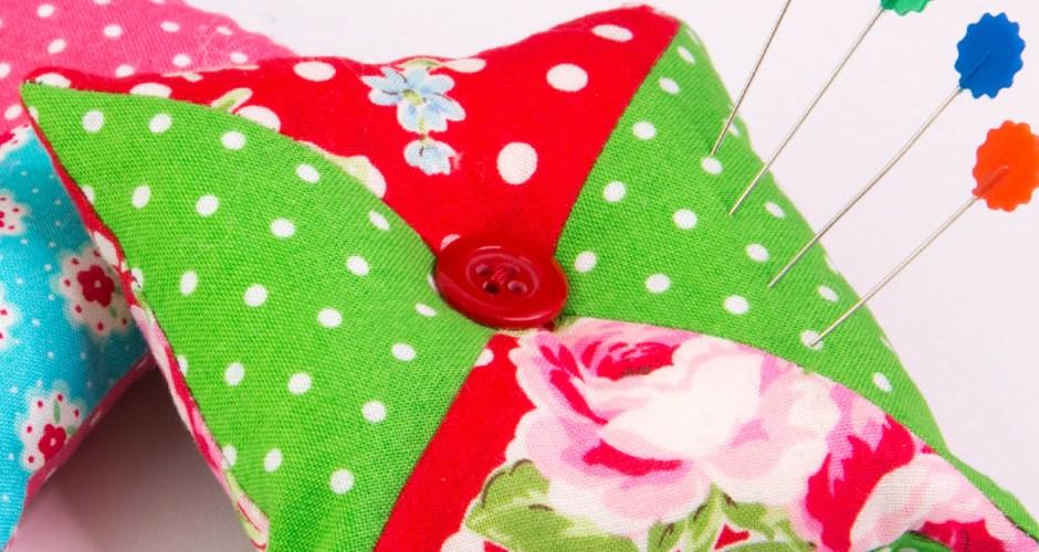How to Make a Pincushion – Patchwork Pin Cushion