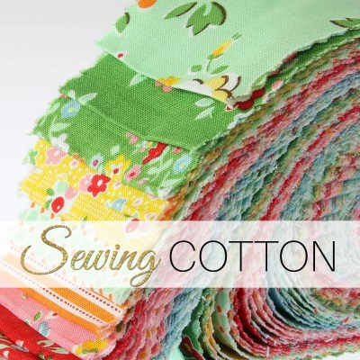 Sewing Cotton: 5 steps for sewing cotton fabric
