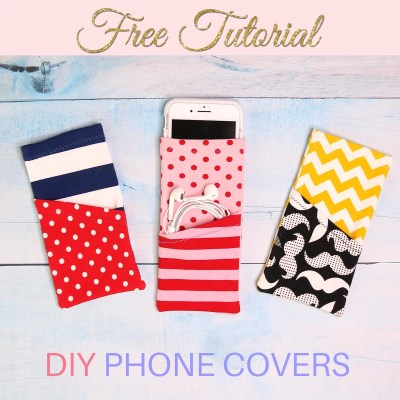 DIY Phone Cover – Protect your phone and look cool