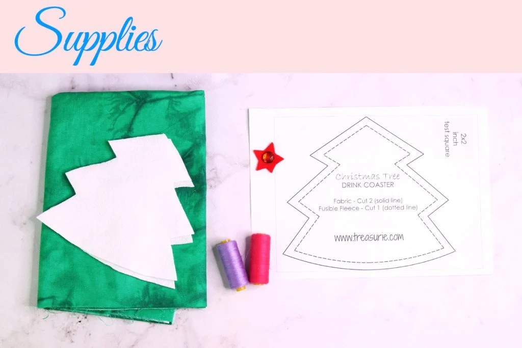 DIY Christmas Coasters Pattern