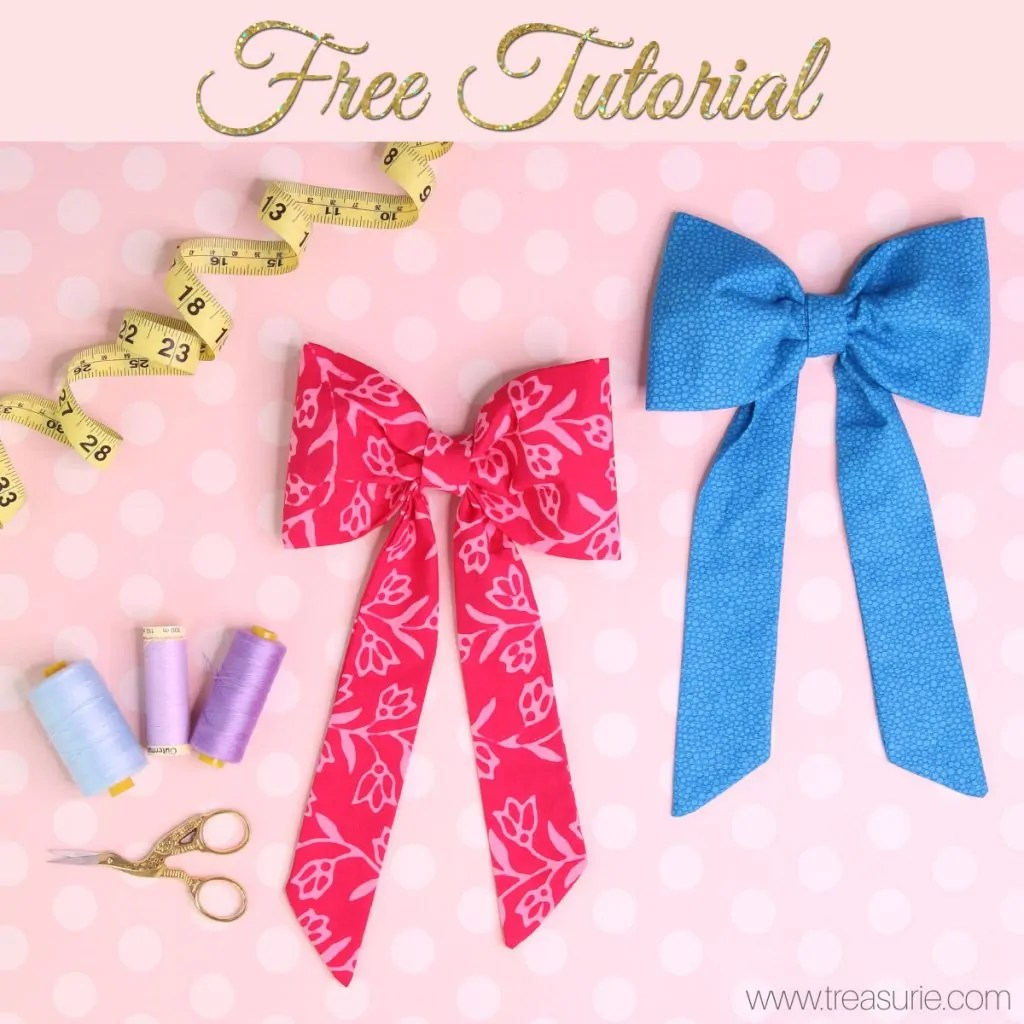 how to make bows for clothing