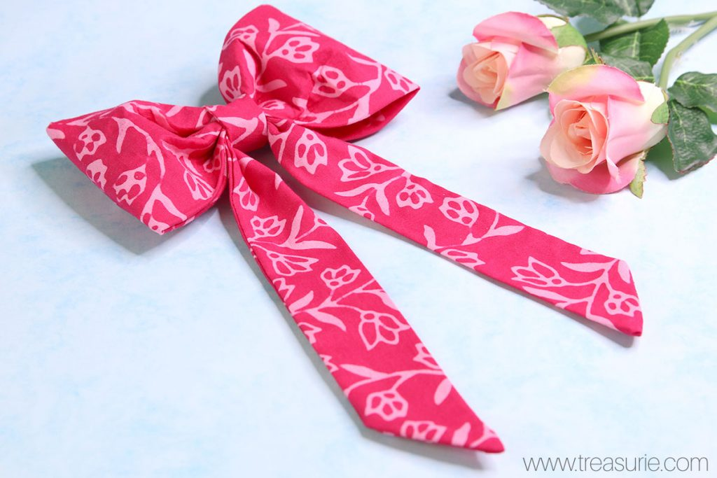diy fabric bow