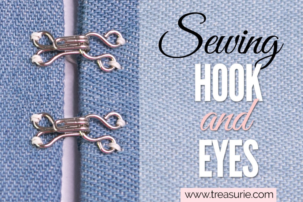 hook and eye sewing