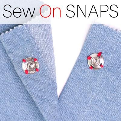 sew on snaps