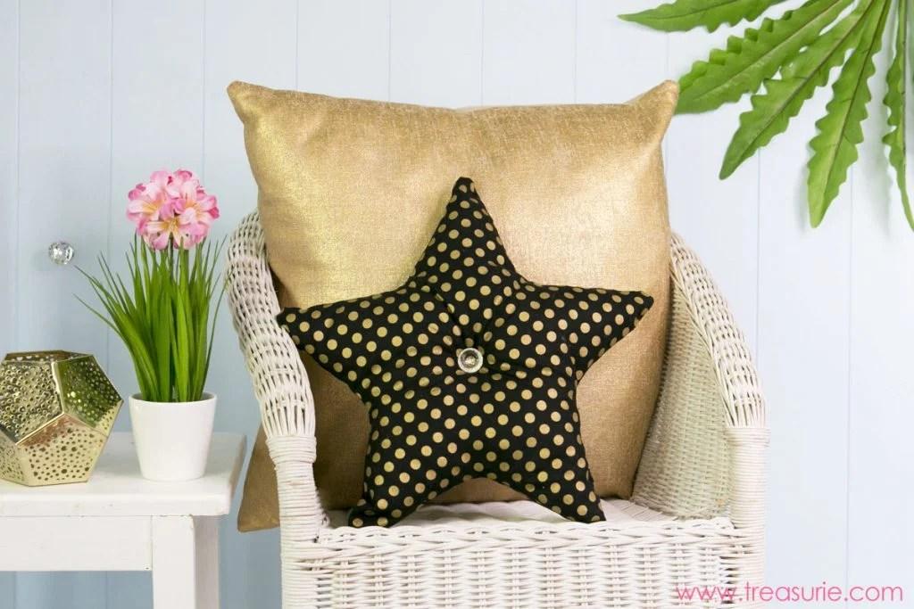 star pillow tutorial