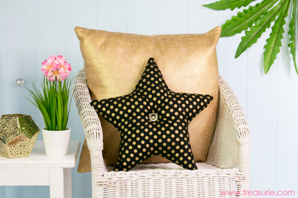 star pillow tutorial