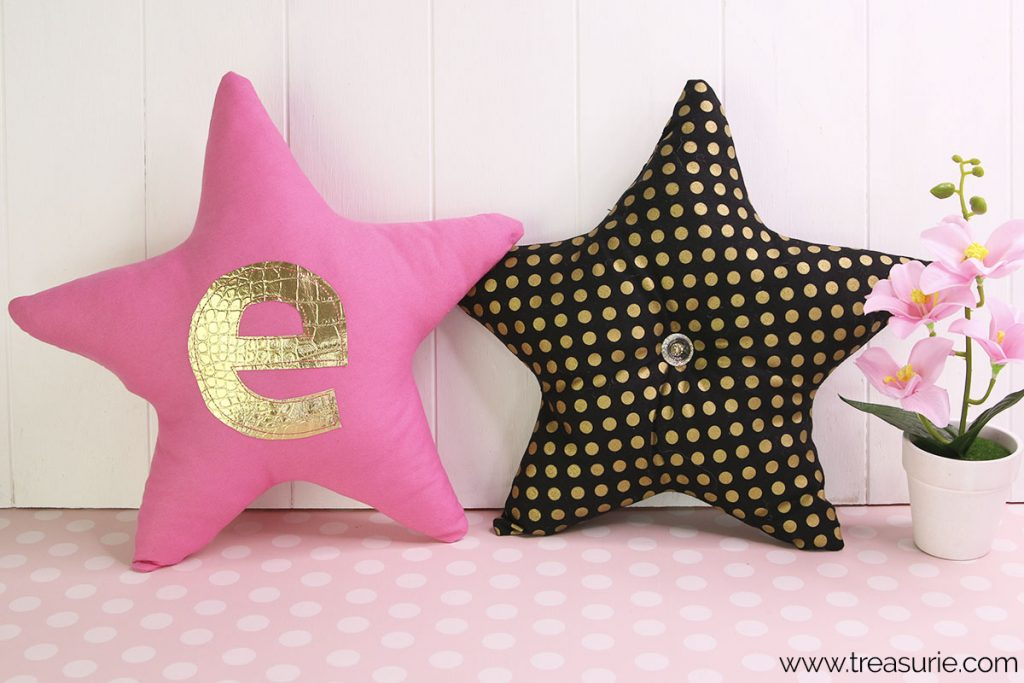 Star Pillow Pattern with Applique