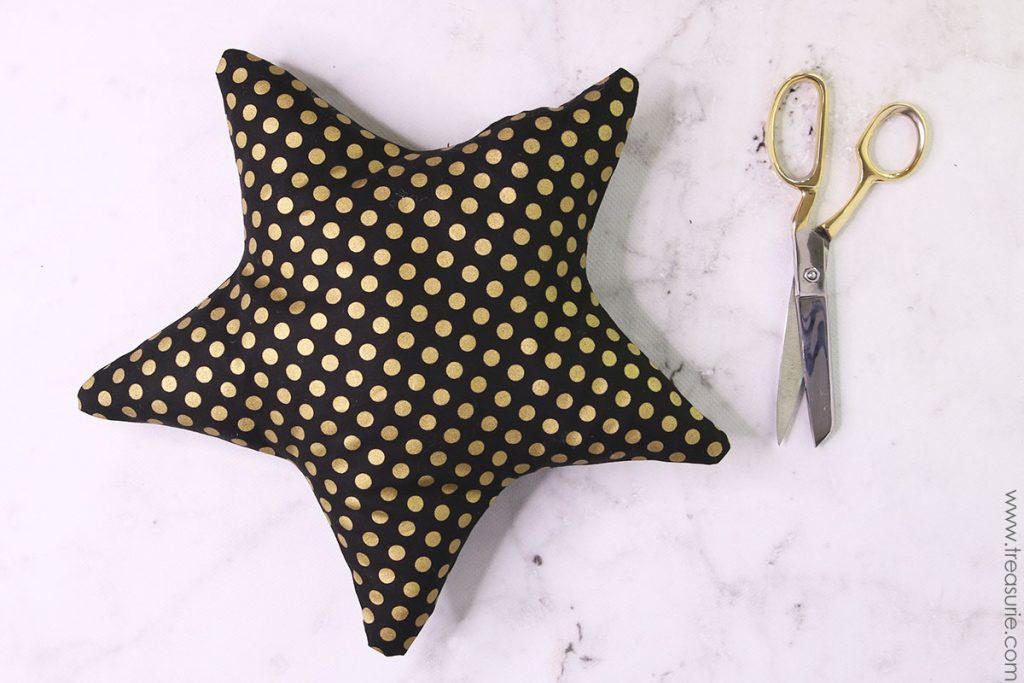 Star Pillow Pattern - Hand Stitch