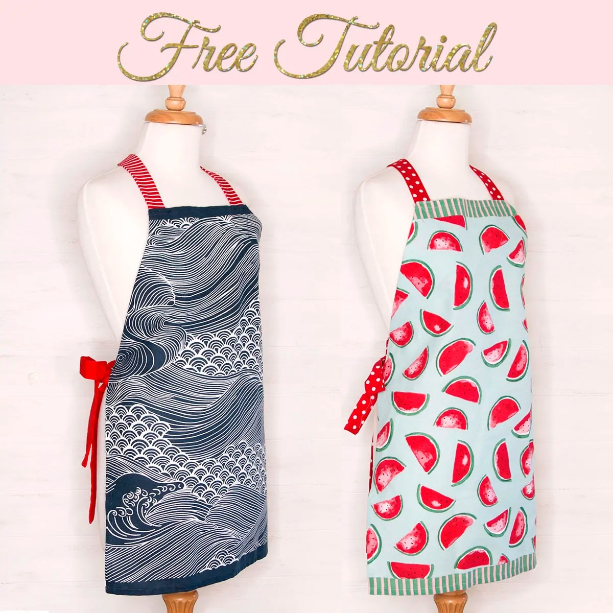 image relating to Free Printable Apron Patterns known as Tea Towel Apron Manual: Straightforward and Basic TREASURIE