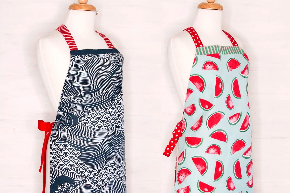Tea Towel Apron TUTORIAL: Quick and Easy
