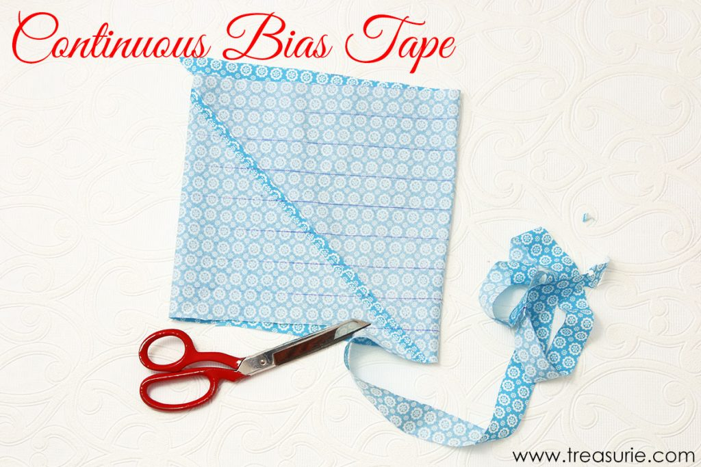 Types of Bias Tape - Continuous Bias