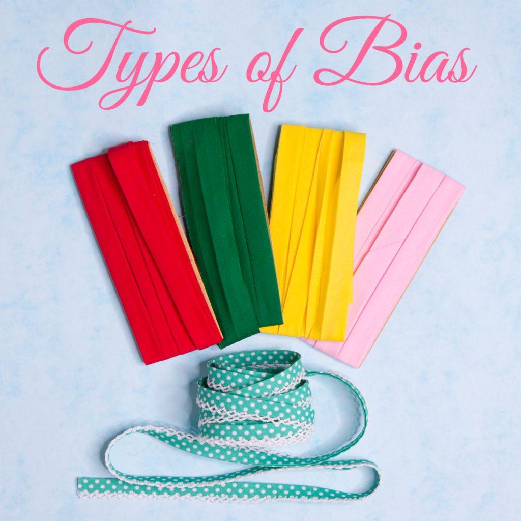 types of bias tape