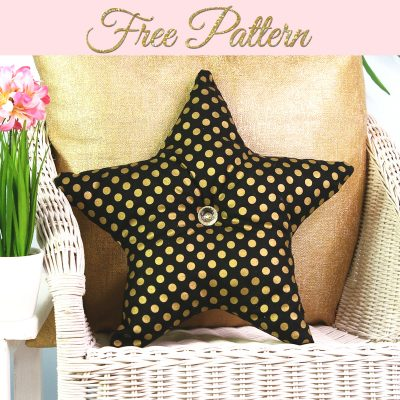 star pillow pattern