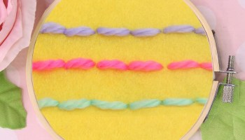 Hand Embroidery Stitches: 6 EASY hand stitches |TREASURIE