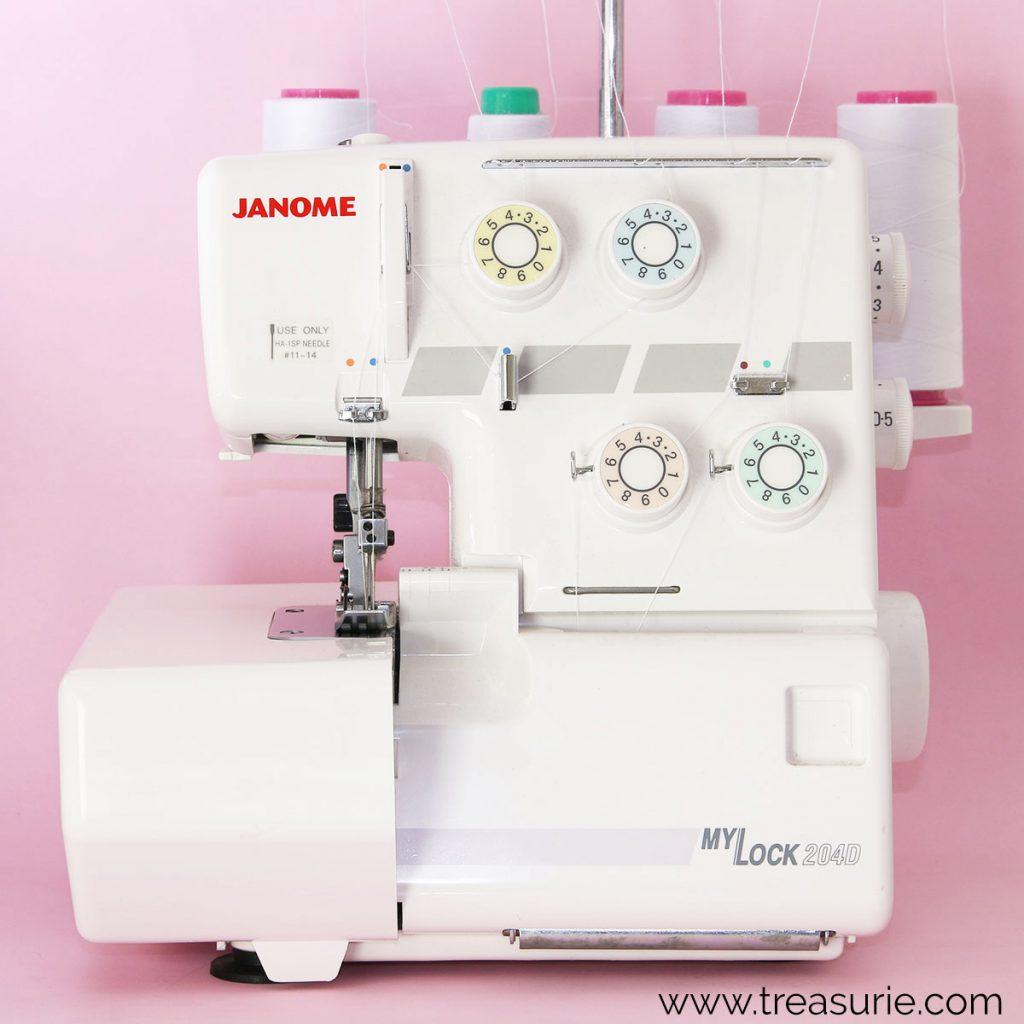 Sewing Machine vs Serger vs Coverstitch - Serger