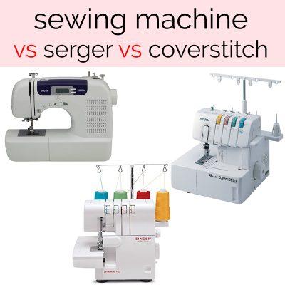 sewing machine vs coverstitch