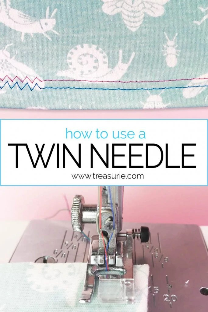 HOW TO USE A TWIN NEEDLE, Double Needle