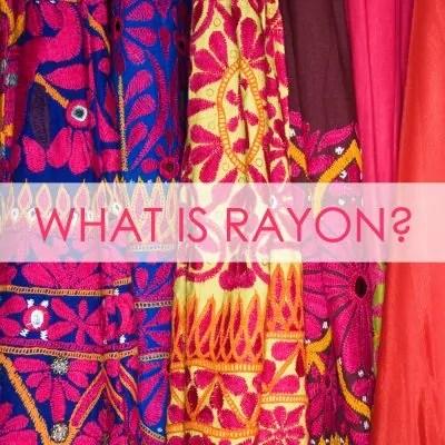 SEWING RAYON