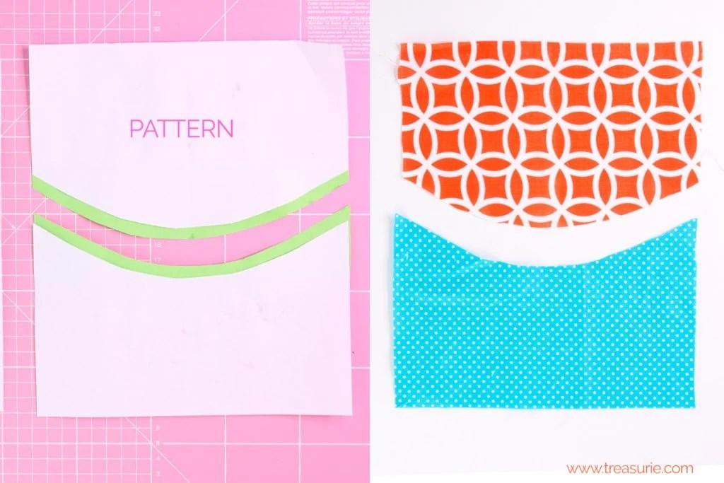 sewing opposing curves,  Sewing Curves - Opposing