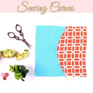 sewing curves, how to sew curves