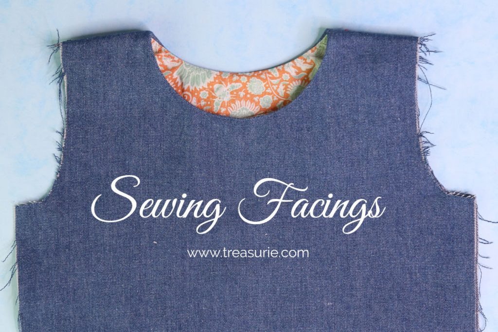 Sewing Facings with Understitching