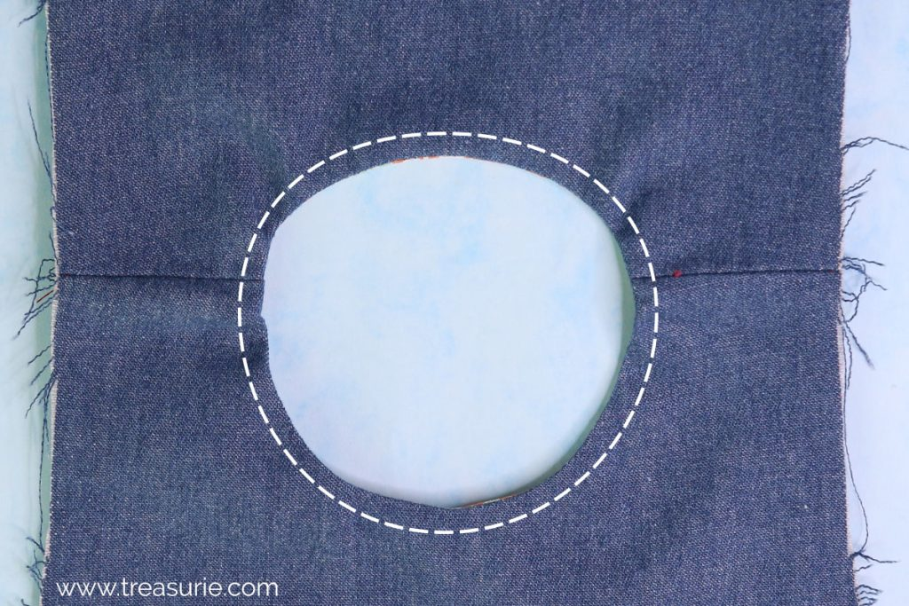 Sewing Facings with an Topstitching