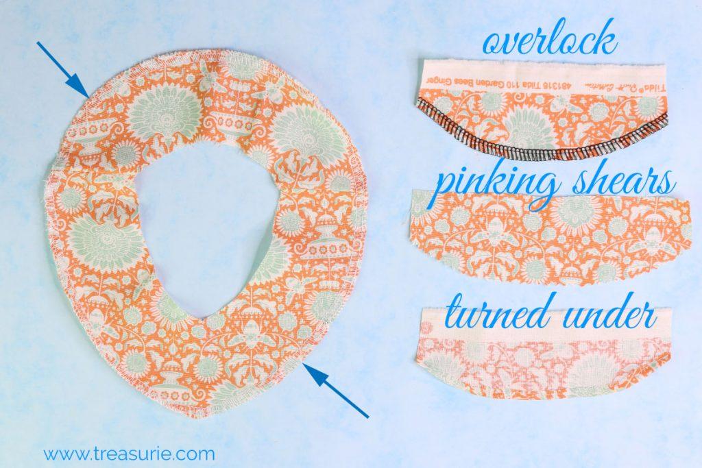 Sewing Facings Edging