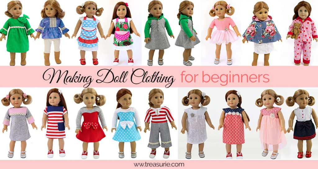 How to Sew Doll Clothes for Beginners, Making Doll Clothing